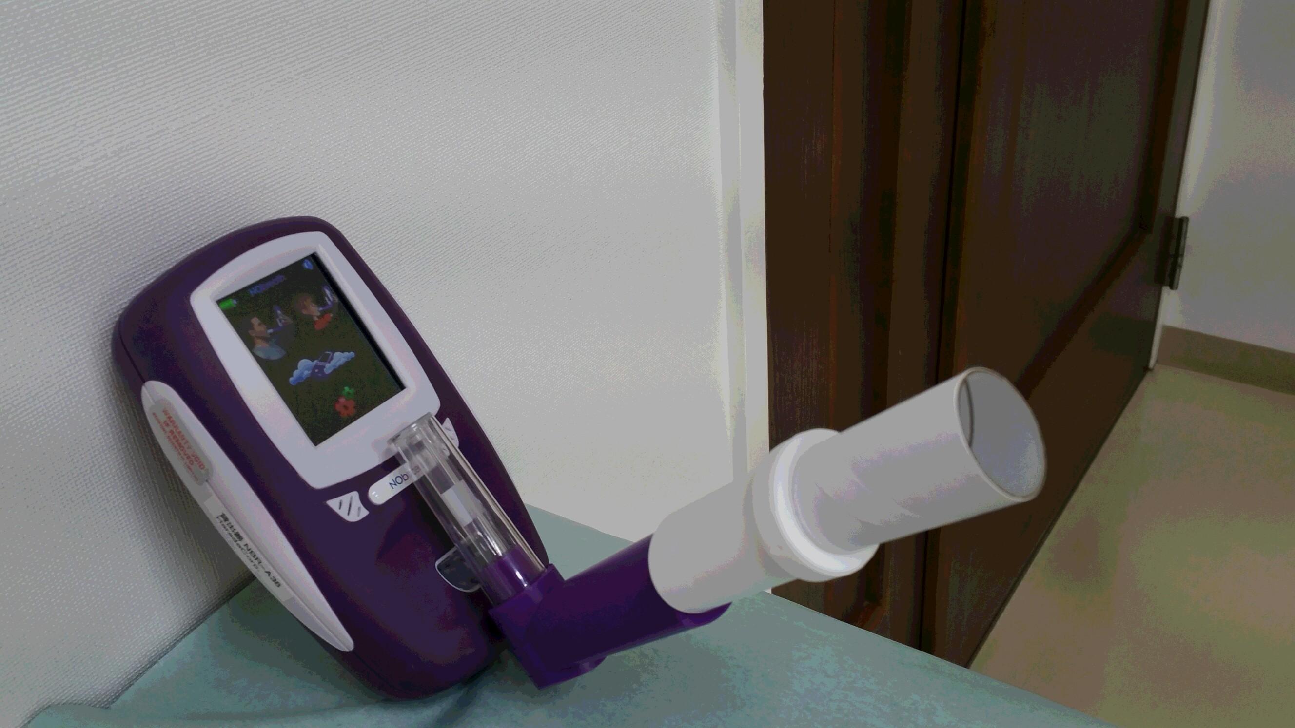 ポータブル呼気一酸化窒素濃度測定器